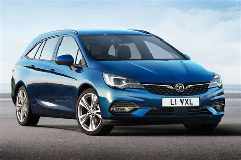 opel astra l 2020 facelifted 2020 opel vauxhall astra breaks cover with