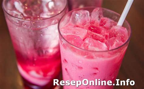 Soda Gembira resep es fanta soda gembira yang nikmat dengan agar