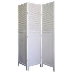 home decorators collection 5 83 ft white 3 panel room
