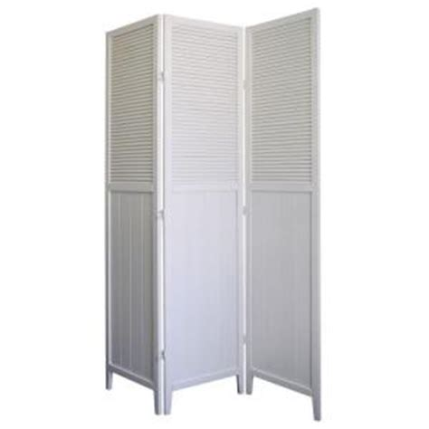 room dividers home depot home decorators collection 5 83 ft white 3 panel room divider r5420 the home depot