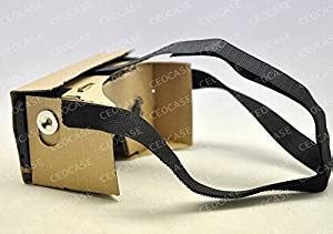 Cardboard Vr For 5 57inchi Luxury Version For Smartphone T0210 cardboard mount version with nfc