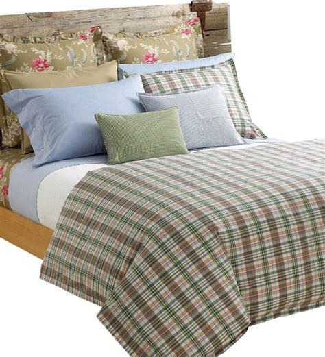 madras comforter set ralph lauren boathouse madras plaid queen duvet cover set