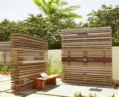 outdoor dusche sichtschutz new garten ideen