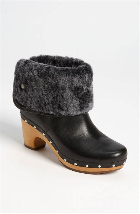 ugg boots for black ugg lynnea ii boot in black lyst