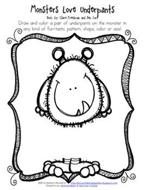 love monster coloring page fun activities monsters and the story on pinterest