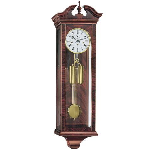 Handcrafted Clocks - hermle handcrafted regulator wall clock 70743 070351