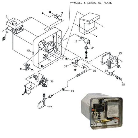 rv water heater board wiring diagram 40 wiring