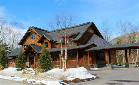 Mountain Home Cabins Nh by Adirondack Designs Alpine Lakes New Hshire