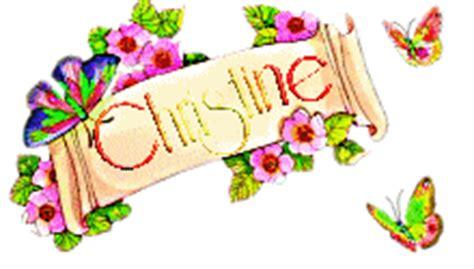 doodle name christine christine centerblog
