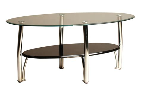cocktail tables and end tables black chrome glass cocktail table 2 end tables at
