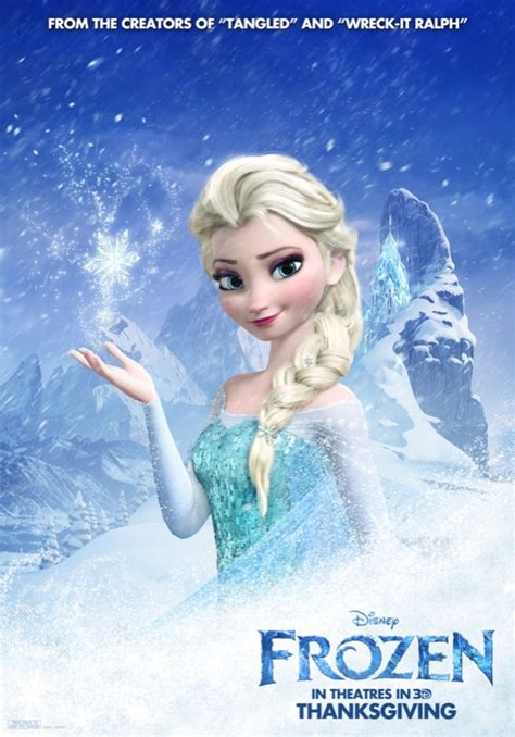 frozen movie poster disney thaws out four new frozen posters comingsoon net