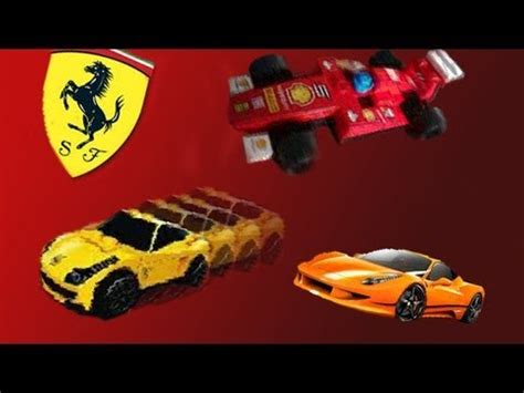 lego ferrari tutorial lego shell ferrari cars review 458 italia f1 fxx