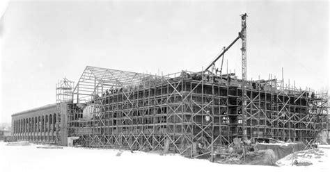 bentley excavating michigan stadium gettng it built universiity of