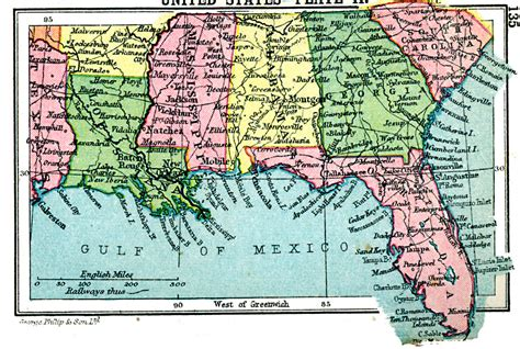 map of southern states southern united states