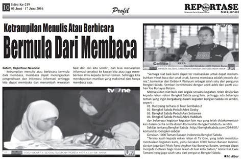 Jual Nes V Batam reportase nasional gerakan 1000 taman bacaan indonesia