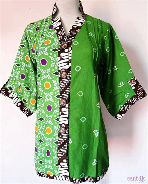 Limited Zakia Blouse Batik Kombinasi Murah batik cantik mira harga grosir model baru