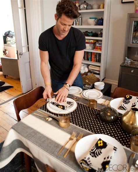 setting the table how to set a table with nate berkus decorating pinterest