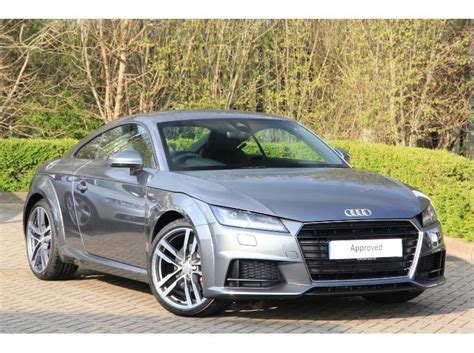 Audi Tt Ps by Used 2015 Audi Tt Coupe 2 0 230 Ps S Line For Sale In