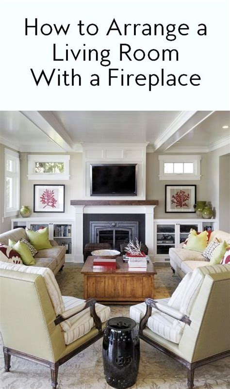 how to arrange a rectangular living room best 25 furniture around fireplace ideas on pinterest