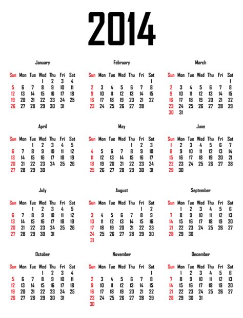 printable calendar grid 2014 2014 calendar free download calendar