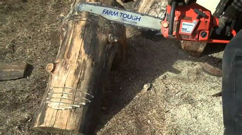 how to make log benches how to cut and shape log benches by mitchell dillman youtube