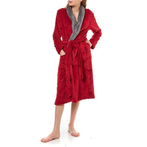 damart robe de chambre damart teddy robe de chambre bordeaux brandalley