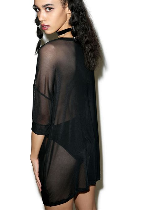 mesh cover up dress iron wishbone mesh cover up dress dolls kill