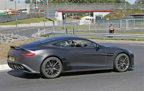 aston martin hp 2018 aston martin vanquish s spied a 600 hp v12 swansong