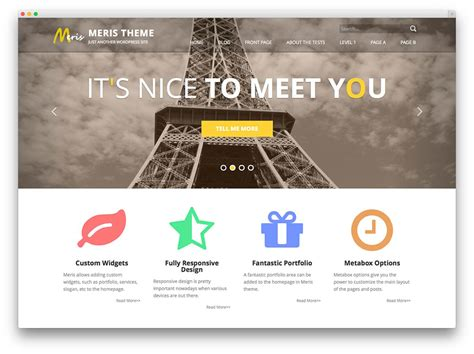 wp template 50 best free responsive themes 2017 colorlib