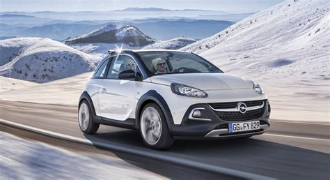 opel adam rocks opel adam rocks urban mini crossover revealed photos