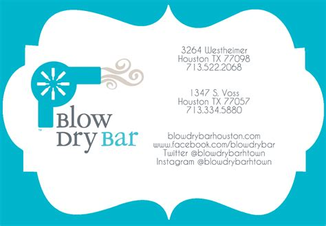 Dry Bar Email Gift Card - blow dry bar westheimer gt gift certificate