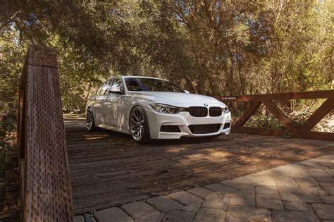 bmw f30 aftermarket alpine white bmw f30 3 series gets aftermarket morr wheels