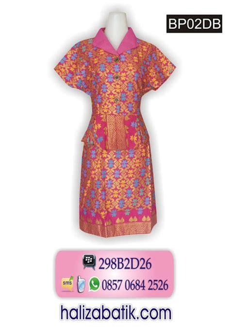 Aq6032 Baju Dress Atasan Wanita Dress Terusan G Kode X6032 5 aneka baju batik grosir batik gamis batik dress batik