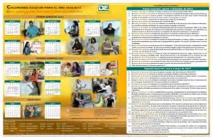 Calendario Escolar Agosto 2017 Consejer 237 A Profesional Escuela Superior Roqu 233 De
