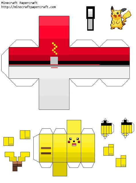Papercraft Pokeball - papercraft pikachu www pixshark images