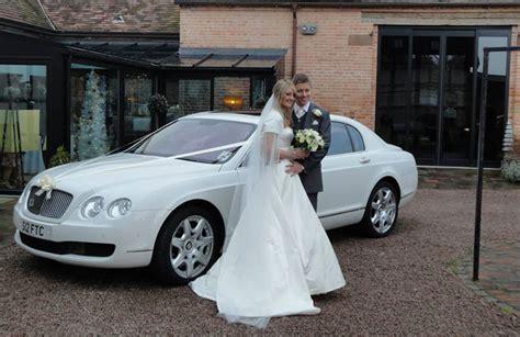 Wedding Car Worcester by Bentley Flying Spur White Worcester Wedding Car
