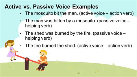 active and passive voice ppt download