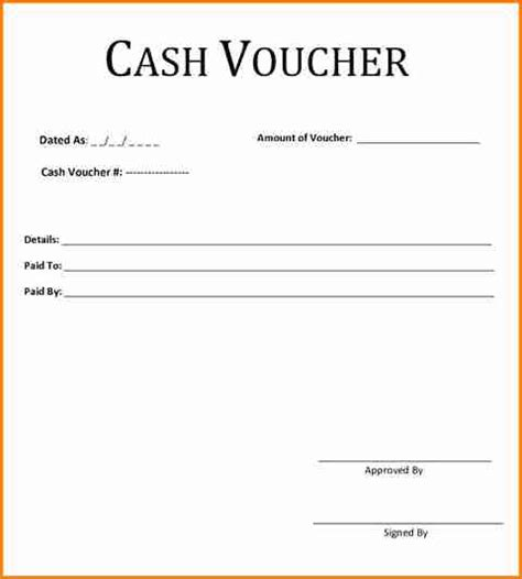 Receipt Voucher Template Word by 7 Payment Voucher Format In Word Simple Salary Slip