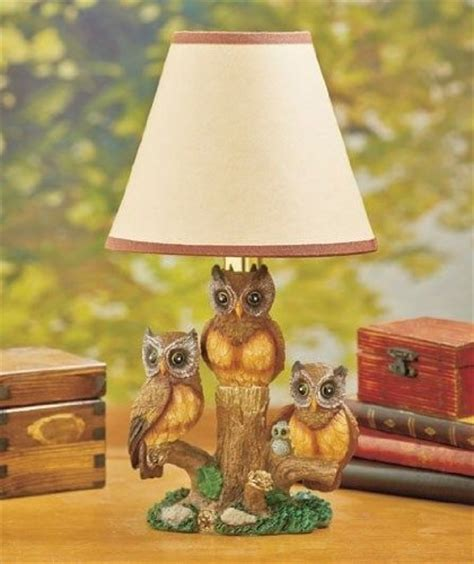 woodland silhouette l shade woodland owl table l w silhouette shade sculpted home