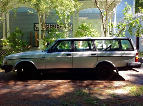 Silver Volvo Station Wagon 240 Volvo Station Wagon Silver 1993 Needs Engine Classic