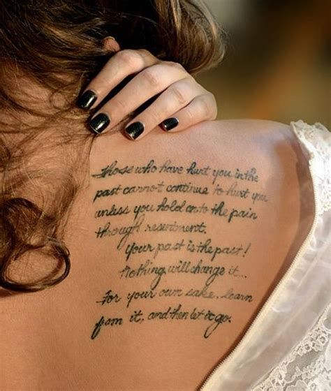 tattoo quotes on females women thigh tattoos quotes