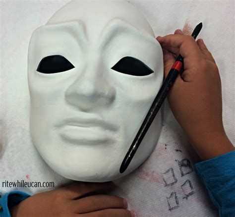 How To Make Paper Mache Masks - paper m 226 ch 233 masks