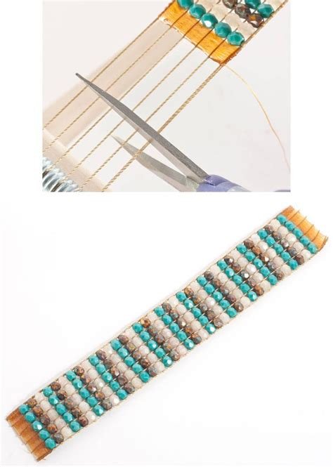 finishing a bead loom bracelet 12 best images about looming on loom
