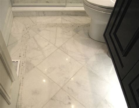 houzz bathroom floor tile sino carrara traditional tile toronto by cercan