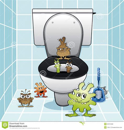 The Toilet Gang Royalty Free Stock Photo   Image: 28731285