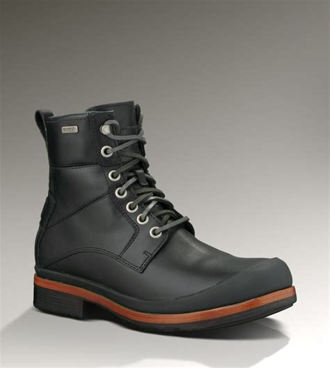 Sepatu Boots Ugg neumel leather boots and leather boots