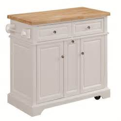 kitchen island cart shop tresanti summerville white adjustable kitchen cart at lowes