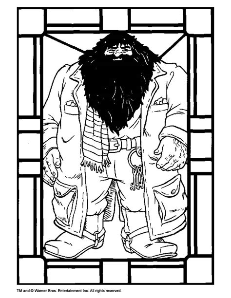 harry potter coloring pages dumbledore hagrid coloring pages hellokids