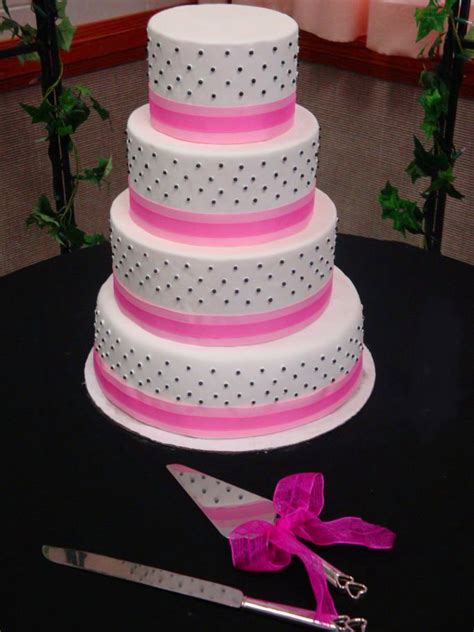 Pink Wedding Cake by Black And Pink Wedding Cake That S My Cake