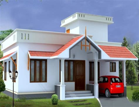 home design in budget 1000 square feet 2 bedroom kerala low budget home design